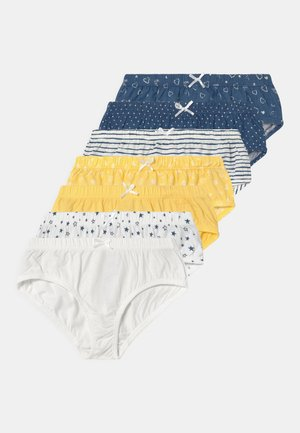 7 PACK - Braguitas - yellow/white/blue