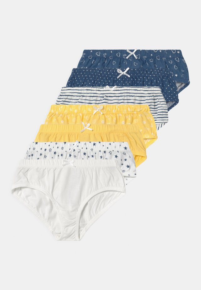 7 PACK - Slip - yellow/white/blue