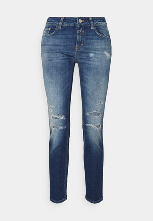 BAKER - Vaqueros slim fit - mid blue