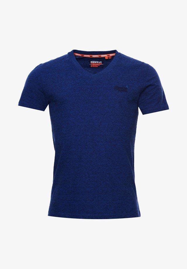 VINTAGE  - T-shirt basic - vivid cobalt grit