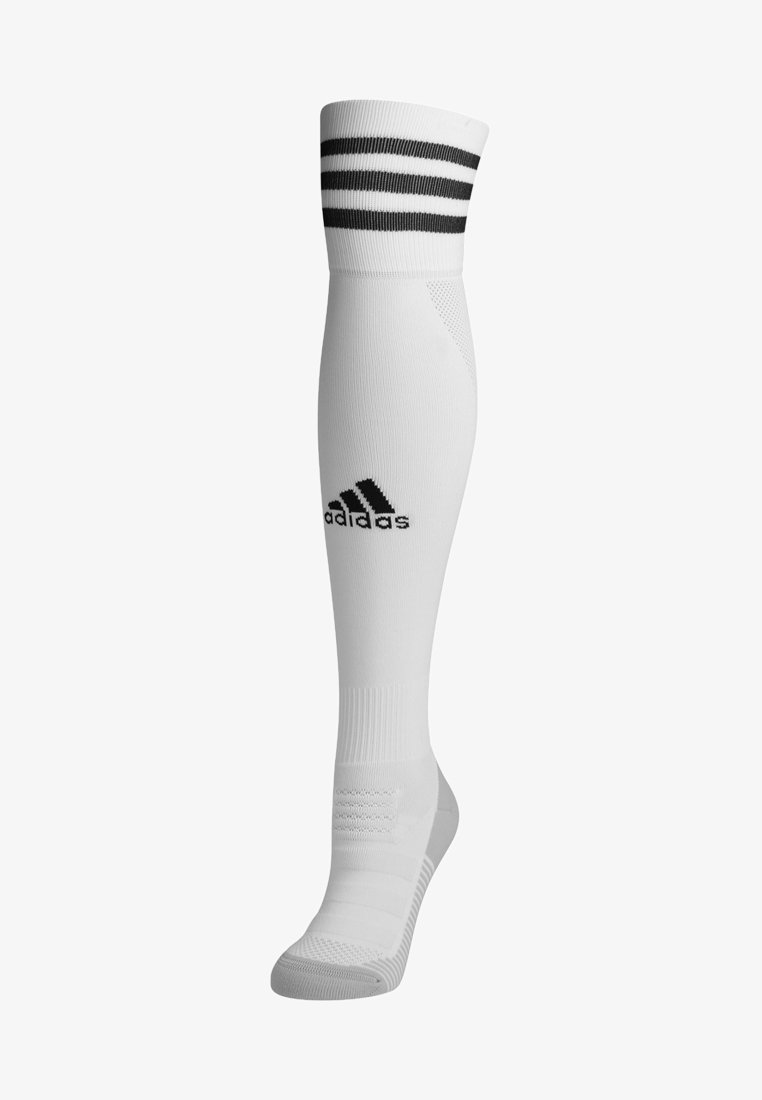 adidas Performance - Knee high socks - white/black