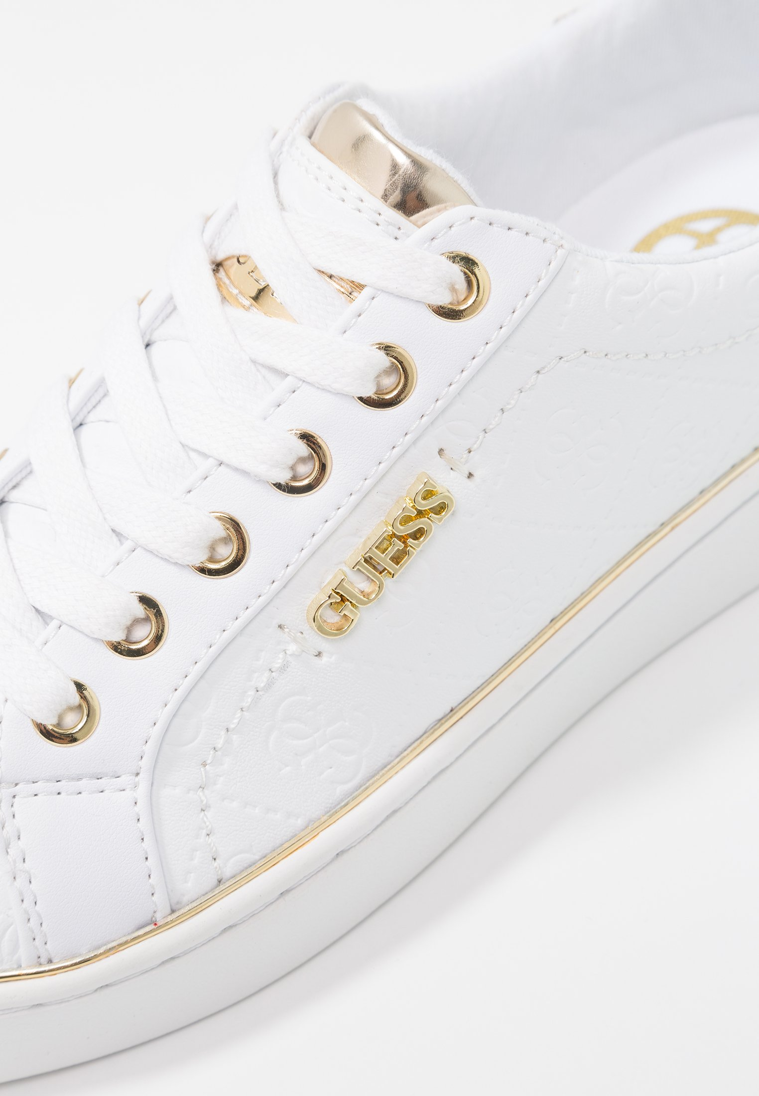 Guess BECKIE Sneaker low white/weiß