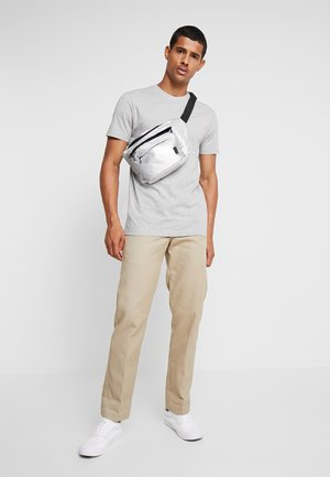 BASIC TEE 6 PACK - T-shirt basic - white/black/grey