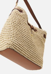 Lauren Ralph Lauren - CROCHET DEBBY - Handbag - natural/tan - 7