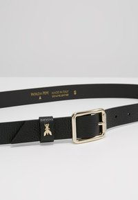 Patrizia Pepe - BASIC BELT - Ceinture - nero/gold - 4