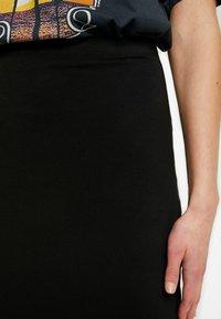 Even&Odd - 2 PACK - Spódnica ołówkowa  - black/ grey - 4