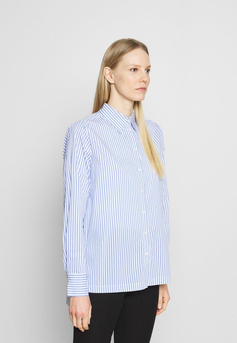Opus - FEORGIA - Button-down blouse - blue mood