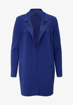 Short coat - royalblau
