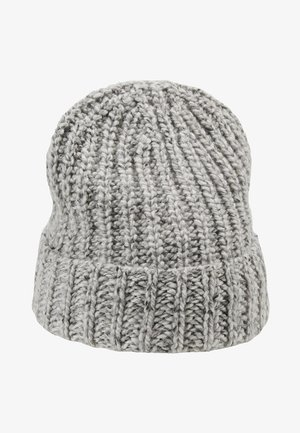 DONEGAL CASHMERE BEANIE - Bonnet - light grey mix