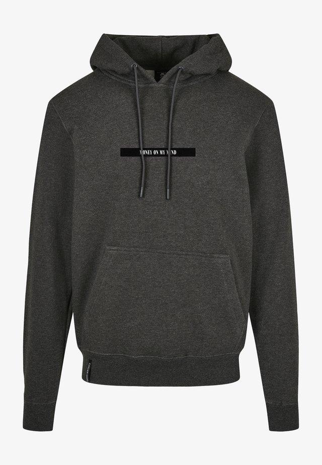Hoodie - charcoal/mc