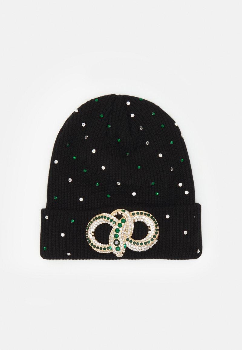 ALDO - QIAVIA - Lue - black/emerald green/gold-coloured combo