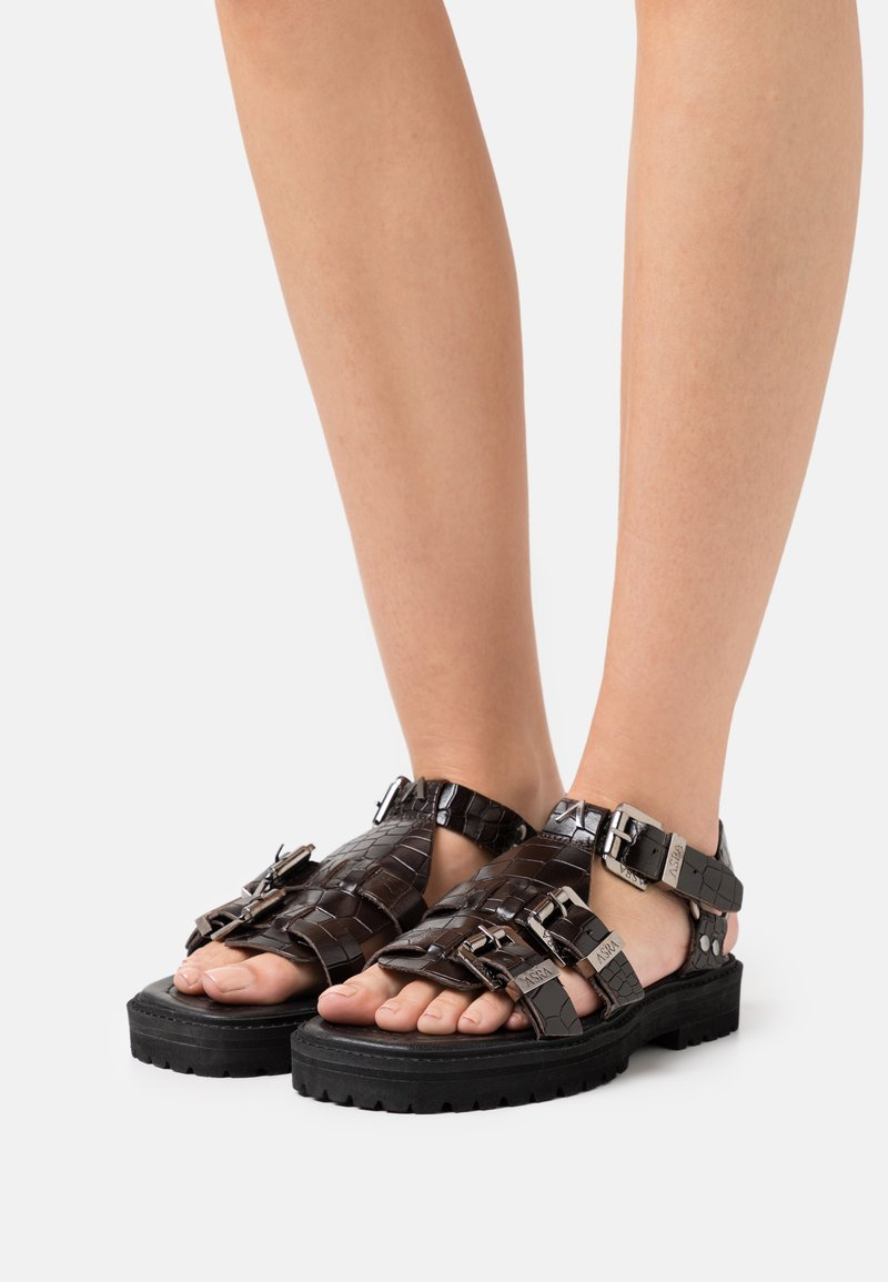 ASRA - SPECTOR - Sandals - mocha