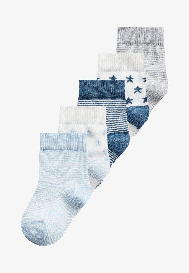 5 PACK - Ponožky - blue