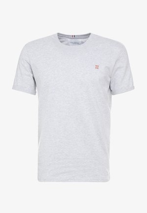 NØRREGAARD - Basic T-shirt - snow melange