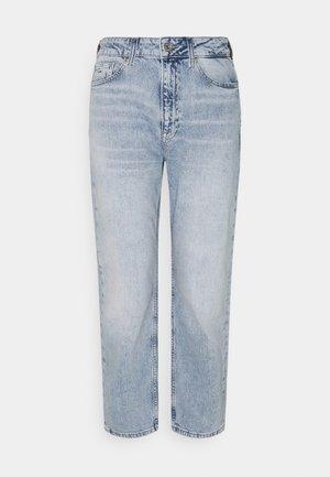 HARPER ANKLE - Jeansy Straight Leg - light blue denim