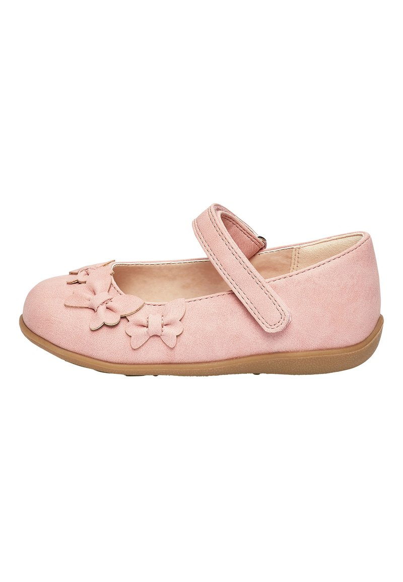 Next - WHITE BUTTERFLY MARY JANE SHOES (YOUNGER) - Babies - pink