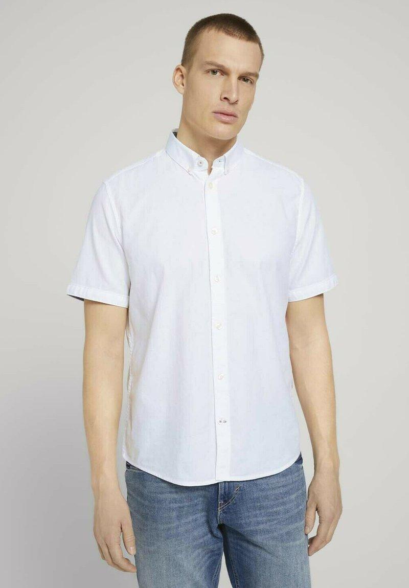 TOM TAILOR - Shirt - white