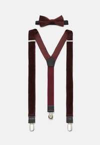 Only & Sons - ONSBOWTIE SUSPENDER SET - Pásek - winetasting - 2