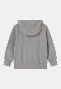 Mini Rodini - TIGER ZIP HOODIE UNISEX - Sweatjacke - grey melange - 1