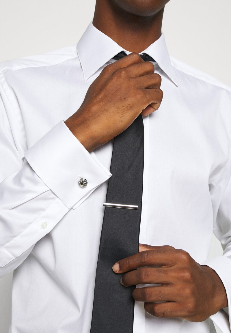 Burton Menswear London - KNOT SET - Cufflinks - silver-coloured