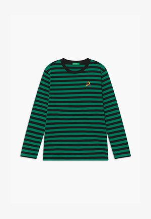 FUNZIONE BOY - Long sleeved top - green/black