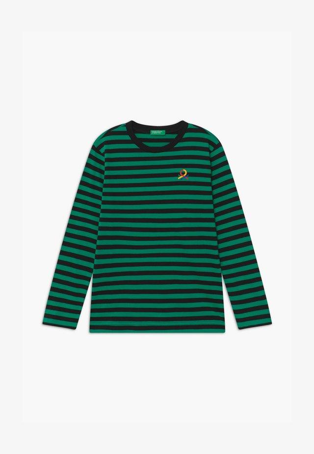 FUNZIONE BOY - Topper langermet - green/black