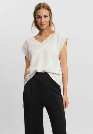 Weste - Basic T-shirt - moonbeam