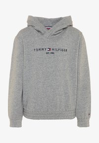 Tommy Hilfiger - ESSENTIAL HOODED  - Mikina s kapucí - grey - 0
