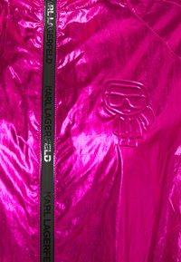 KARL LAGERFELD - IKONIK - Parka - metallic pink - 3
