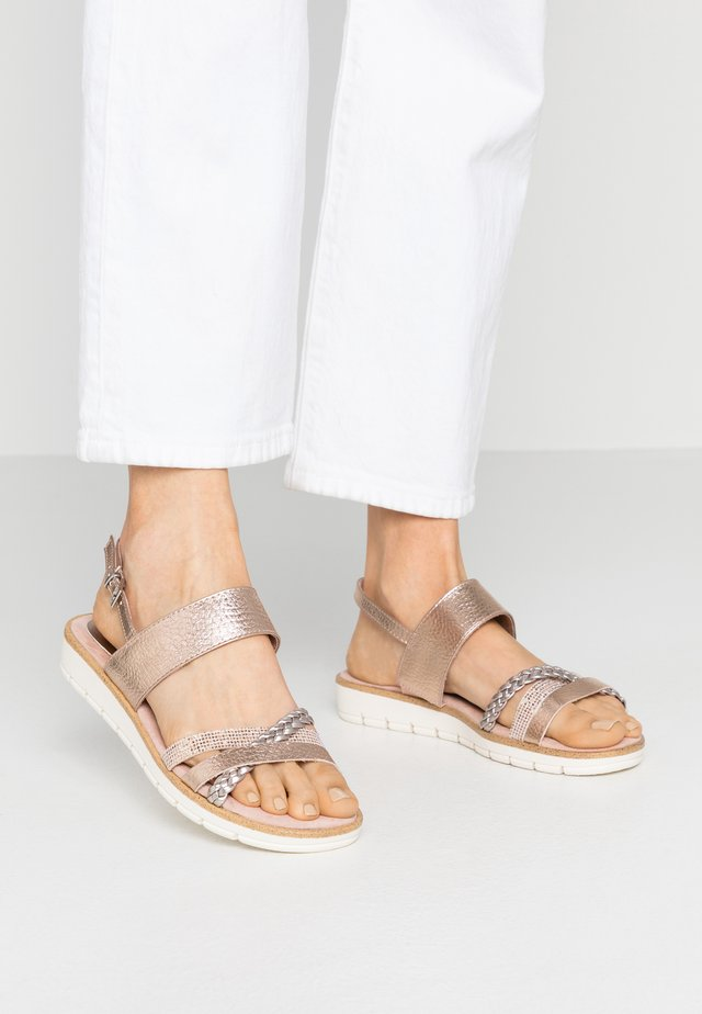 Sandalen - rose metallic