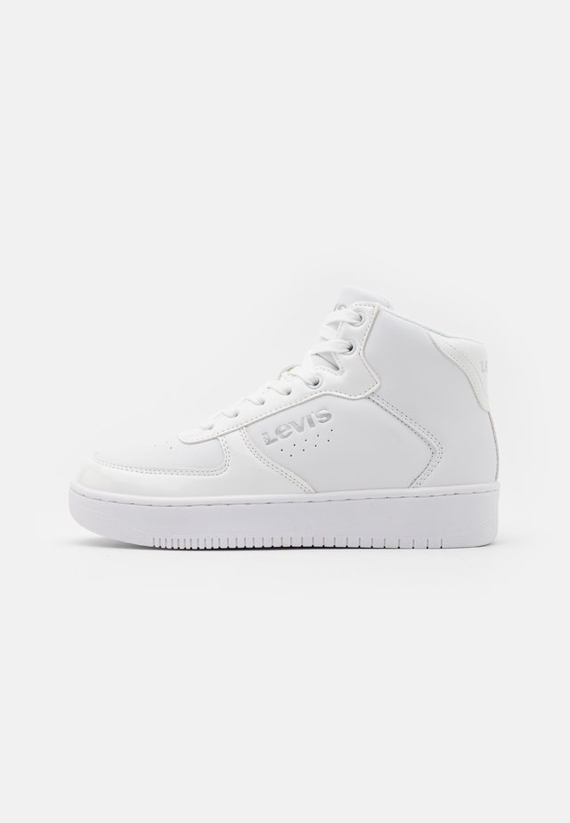 NEW UNION MID UNISEX - High-top trainers - white/silver