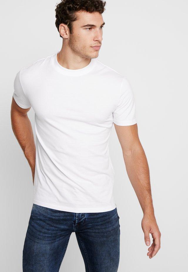AARHUS - T-shirt basic - white