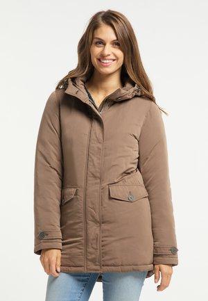 Winter jacket - schlamm