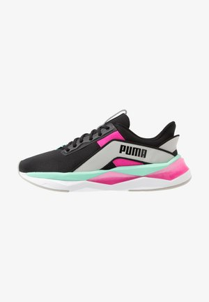 LQDCELL SHATTER XT GEO - Sports shoes - black/gray violet/luminous pink