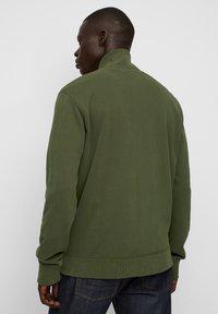 Marc O'Polo - LONG SLEEVE - Zip-up sweatshirt - burnt leaf - 4