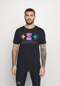 Under Armour - LOCKERTAG  - Print T-shirt - black - 0