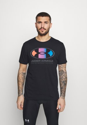 LOCKERTAG  - Print T-shirt - black
