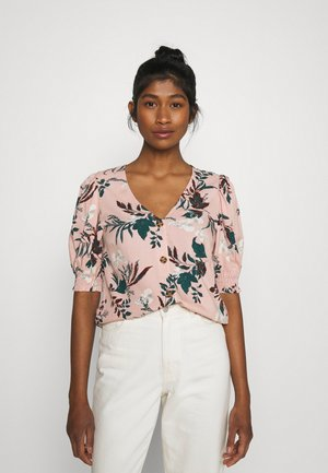 VMSIMPLY EASY BUTTON - Blouse - misty rose