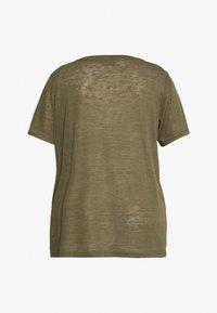 Zizzi - MAMY - Basic T-shirt - ivy green - 5