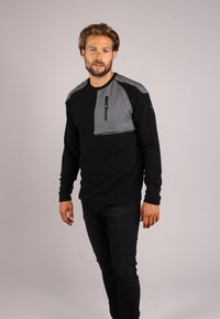 Gabbiano - Long sleeved top - black - 0
