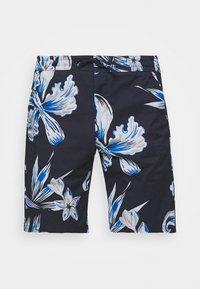NN07 - SEB SHORTS  - Shorts - navy print - 3