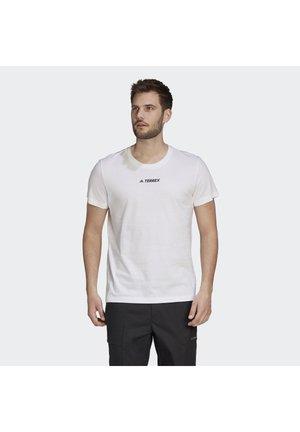 TERREX GRAPHIC T-SHIRT - Print T-shirt - white
