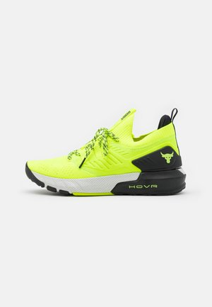 PROJECT ROCK 3 - Chaussures d'entraînement et de fitness - high-vis yellow
