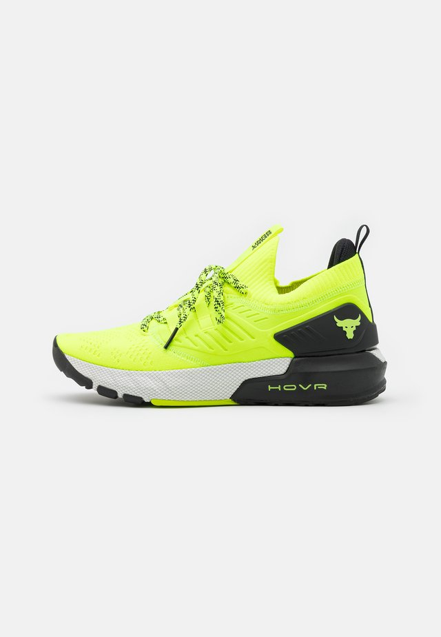 PROJECT ROCK 3 - Scarpe da fitness - high-vis yellow