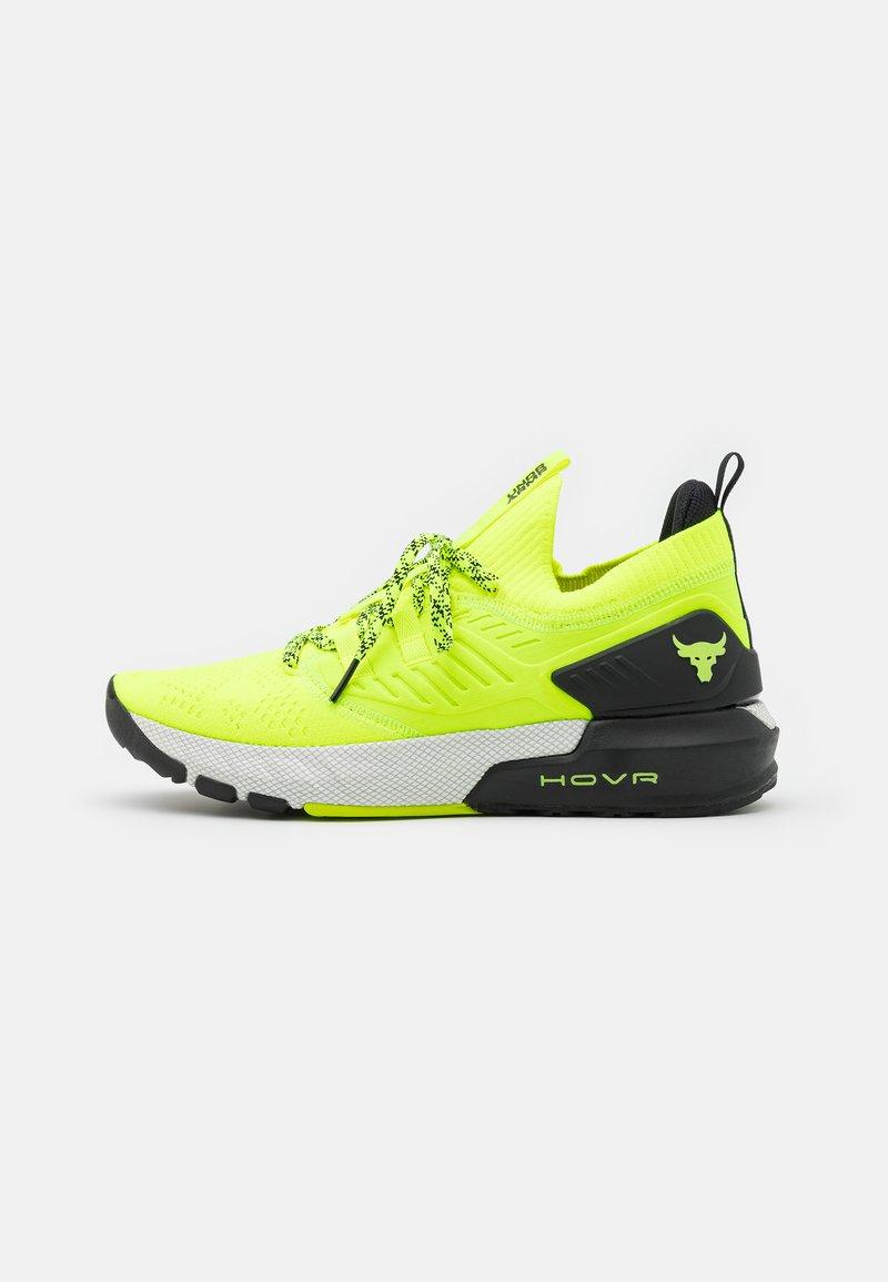 Under Armour - PROJECT ROCK 3 - Zapatillas de entrenamiento - high-vis yellow