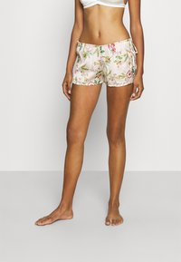 Etam - STRALE SHORT - Pantaloni del pigiama - off-white/multicoloured - 0