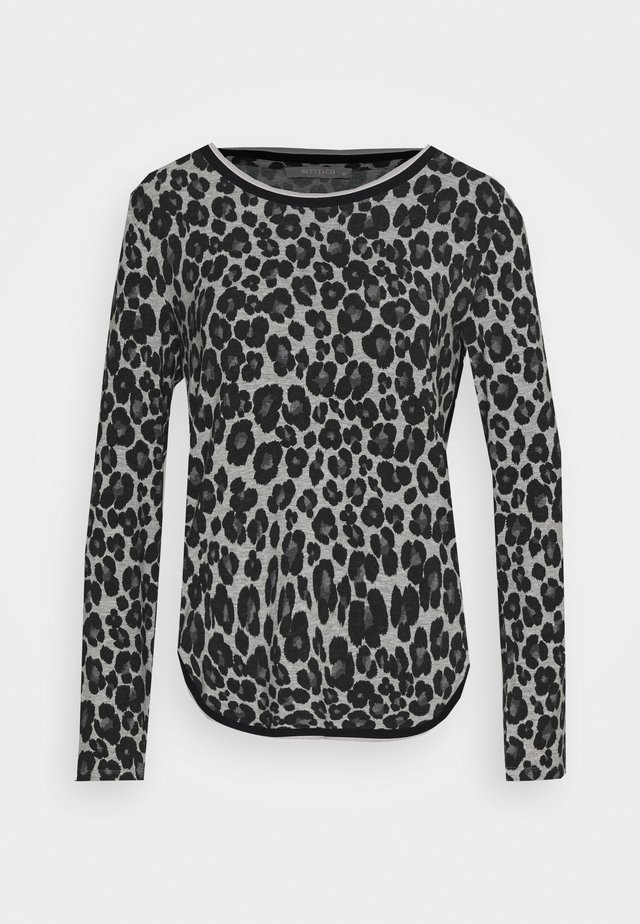 MASSTAB - Long sleeved top - silver/black