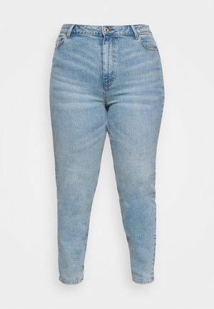 PCKESIA MOM - Slim fit jeans - light blue denim