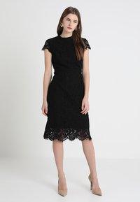 IVY & OAK - DRESS - Cocktail dress / Party dress - black - 0