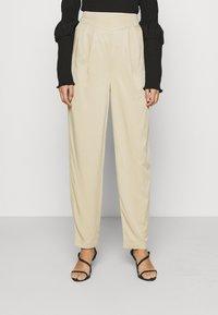 ALIGNE - DAPHNE - Trousers - sand - 0